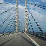 De brug tussen Denemarken en Zweden